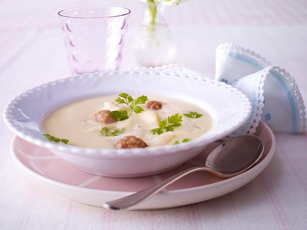 Kochschule - Spargelcremesuppe Rezept