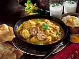 Kofta Kari-Gefüllte Hackbällchen in Curry-Soße Rezept