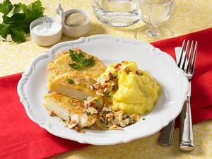 Kohlrabi in Eihülle in Speck-Mandel-Butter Rezept