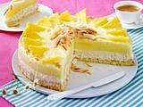 Kokos-Ananas-Eistorte Rezept