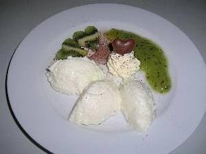Kokos-Mousse liebt Kiwi-Mark Rezept