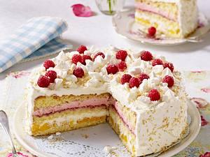 Kokos-Sahne-Torte (Leserrezept) Rezept