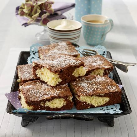 Kokos-Schokoladenkuchen vom Blech Rezept