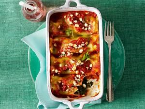 Kopie. Cannelloni mit Spinatfüllung Rezept