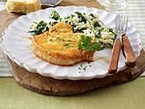Kotelett in Parmesanhülle zu schnellem Risotto Rezept