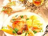 Koteletts mit Spargel-Möhren-Gemüse Rezept