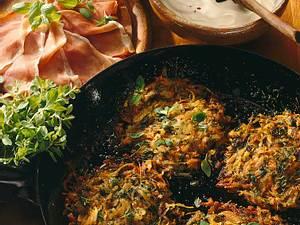 Kräuter-Gemüse-Reibekuchen Rezept
