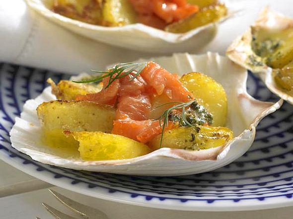 Kräuter-Lachs-Kartoffeln Rezept