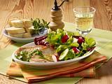 Kräuter-Minutensteaks mit Salat Rezept