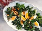 Kräuter-Salat mit Ei Rezept