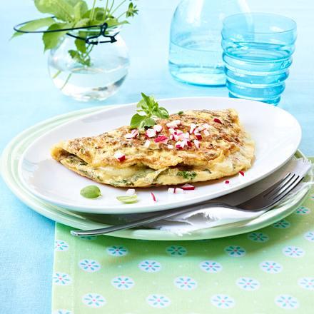 Kräuterhexen-Omelett Rezept