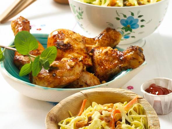 Krautsalat mit Chicken Rezept