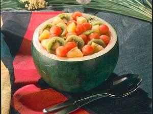 Kühler Melonen-Obstsalat Rezept