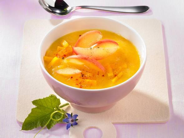 Kürbis-Apfelsuppe Rezept