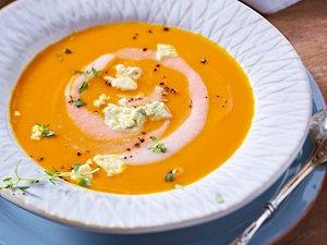 Kürbis-Birnen-Suppe Rezept