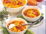 Kürbis-Tomaten-Eintopf Rezept