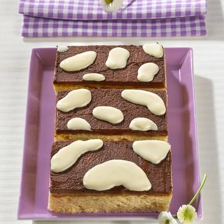 Kuhflecken-Blechkuchen Rezept