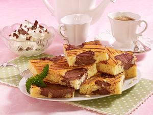 Kuhflecken-Puddingkuchen vom Blech Rezept