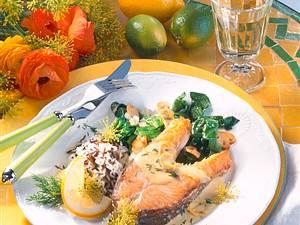 Lachskotelett in Zitronensoße (Diabetiker) Rezept