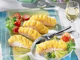 Lachstranchen mit Meerrettich-Püree Rezept