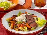 Lamm-Gemüse-Pfanne Rezept