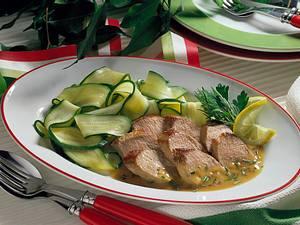 Lammfilet mit Zucchinigemüse Rezept