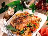 Lammkeule mit Oliven-Tomaten-Kruste Rezept