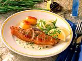 Lammkoteletts mit Roquefortesahne Rezept