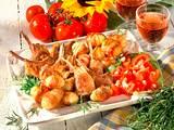 Lammkoteletts mit Rosmarin-Kartoffeln Rezept