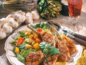 Lammkoteletts provencale Rezept