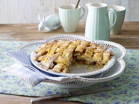Landhaus-Apfelkuchen (Osterbrunch) Rezept