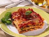 Lasagne mit gerilltem Gemüse und Parmaschinken Rezept