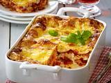 Lasagne mit Kasseler-Gemüse-Soße Rezept