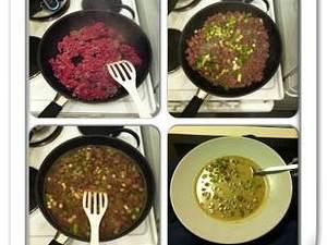 Lauch-Creme-Suppe mit Tatar Hamminkeln von Hanna 3 Portionen a 7PPs Rezept