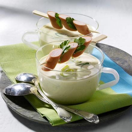 Lauch-Käse-Suppe Rezept