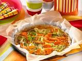 Lauch-Möhrenkuchen Rezept