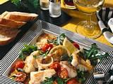 Lauwarmer Kabeljau-Rauke-Salat Rezept