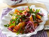 Lauwarmer Kürbis-Zwiebel-Salat Rezept