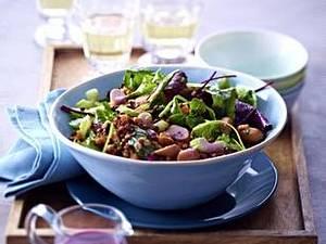 Lauwarmer Linsensalat mit Möhren und Wiener Würstchen Rezept