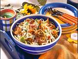 Lauwarmer Spätzle-Salat Rezept