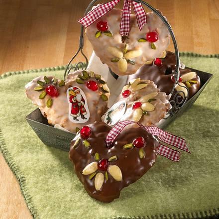 Lebkuchen-Herzen Rezept