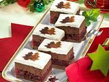Lebkuchen-Schnitten mit Kirschkompott Rezept