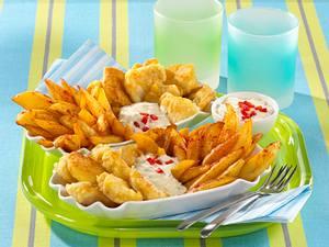 Leichte Fish & Chips Rezept