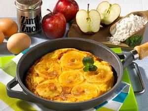 Leichter Apfelpfannkuchen Rezept
