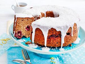 Leichter Himbeer-Hirse-Kuchen Rezept