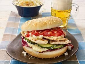 Leichter Puten-Burger Rezept