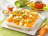 Leichter Waffel-Obst-Kuchen Rezept