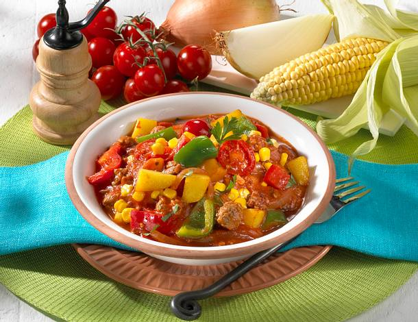 Leichtes Chili con Carne Rezept