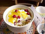 Lemon-Trifle mit Himbeeren Rezept