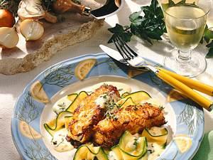Lengfisch in Kartoffelkruste Rezept